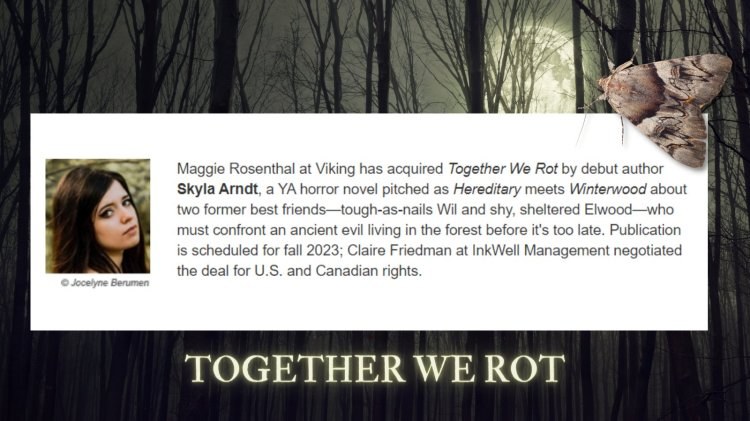 (PICTURED: An announcement for TOGETHER WE ROT)